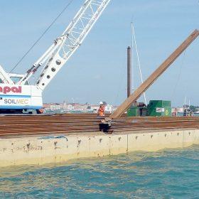 Wharf Construction – Venice (Italy)